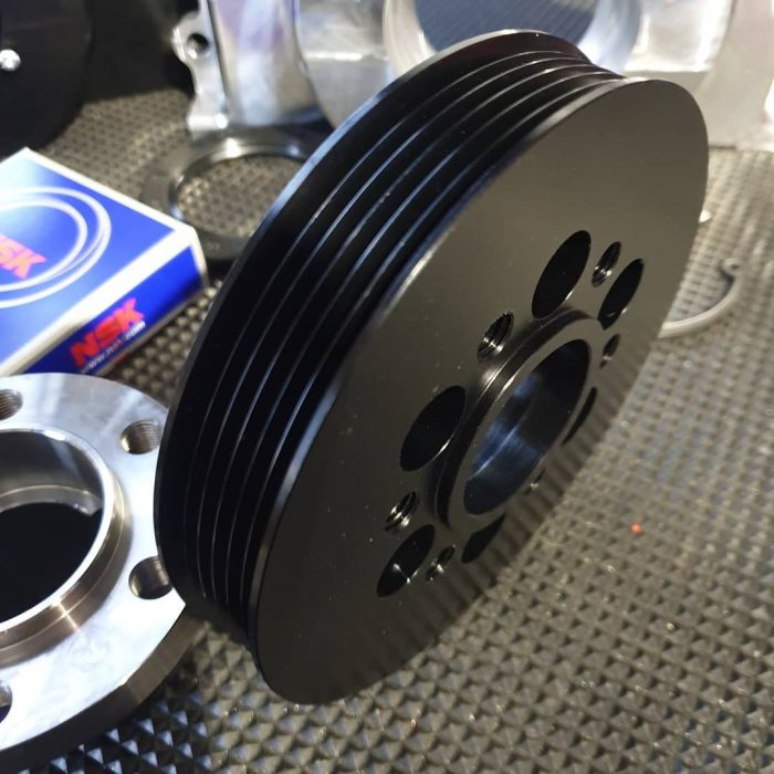 Joe Blo Speed Shop serpentine pulley