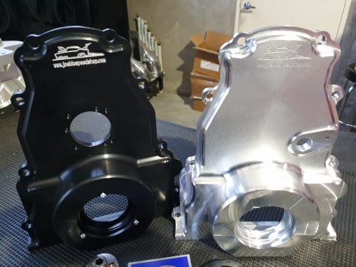 Joe Blo Speed Shop Billet Timing Cover Crank Support