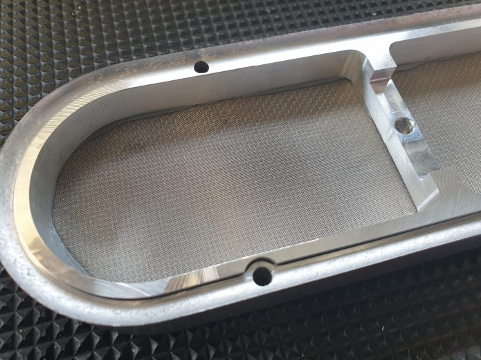 Joe Blo Billet cover for low profile injector hat back