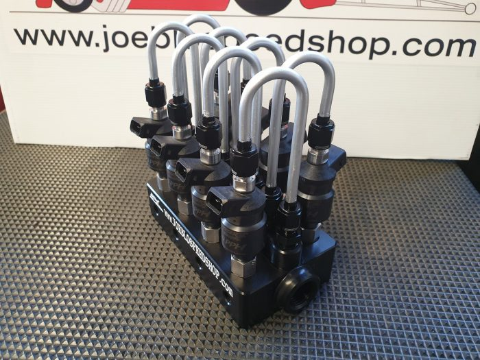 Joe Blo EFI Mechanical Blend Race System