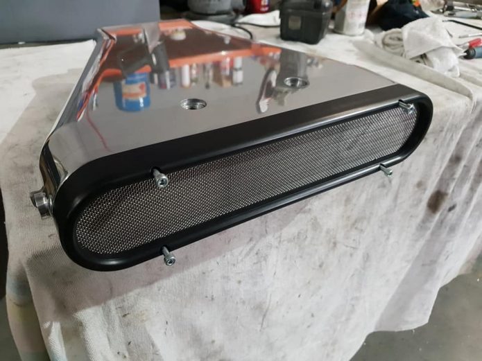 Joe Blo Billet cover for low profile injector hat